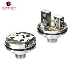 Steam Crave Vape Accessories E Cigarette Aromamizer Plus Supreme V2 RDTA Postless 2-Post Deck Velocity Deck SteamCrave RTA Base