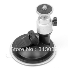 Hot Mini Camera Camcorder Suction Mount Tripod Holder Car Screen Sliver  P
