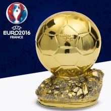 France Resin Golden Football World Player of the Year Trophy Award Cups Ballon d'Or Mr 19cm Soccer Team Club Fans Souvenirs