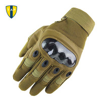 Tactical Military Men Gloves Army Paintball Airsoft Outdoor Sports Shooting Racing Police Carbon Hard Knuckle Full Finger Gloves(China)