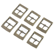 Hoomall Brand 10PCs Shoes Buckles Belt Buckles Metal Shoe Accessories Bronze Tone 33x27mm(China)