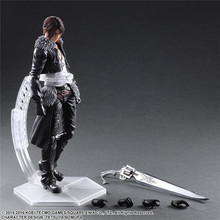 "Action 26cm Anime Squall Leonhart Figure Play Art Kai Final Fantasy VIII PVC 10.23"" Collection Variant Model Doll Best Gift Toy"