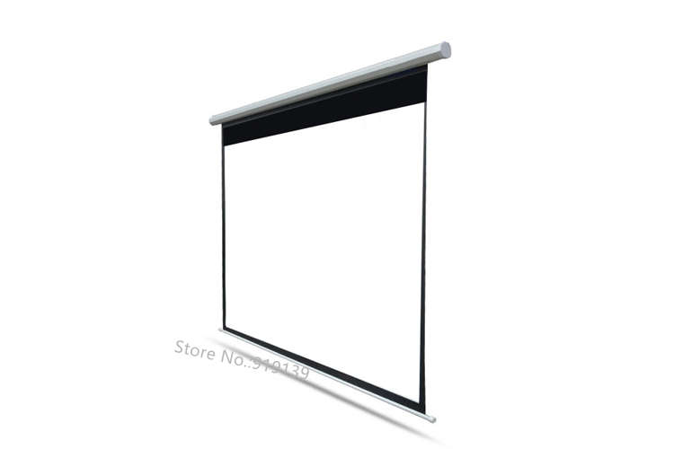 150inch Electric projection screen pic 11
