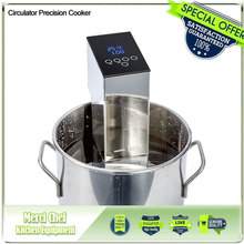 Food Machine Immersion circulator precision cooker Precision Low Temperature Processing sous-vide(China)
