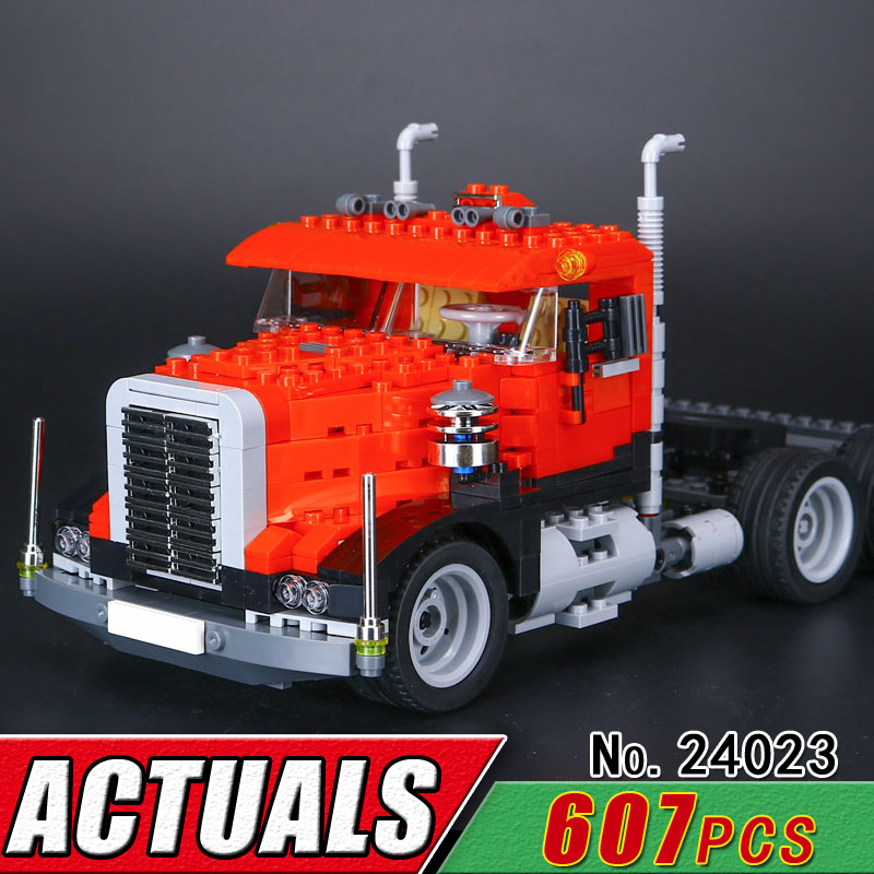 LEPIN 24023 Technic Creative Changing Series 3 in 1 Truck Compatible 4955 Building Blocks Children Educational Bricks Toys Gift<br>