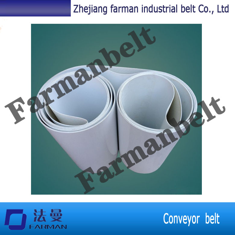 Cosmetics packaging line PU conveyor belt or other materials<br>
