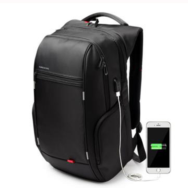 Kingsons Brand Men Notebook Laptop Mochila  Backpack 15.6 Inch Waterproof For Women External USB Charge Computer Antitheft Bag<br><br>Aliexpress
