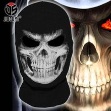 New The Grim Reaper Mask Skull Ghost Death Balaclava Airsoft Tactical Costume Army Paintball Halloween Full Face Mask(China)