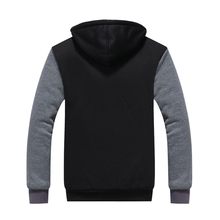 Mens Hoodie Innovation Blank Thicken Design and Customized you Logo US Plus Size(China)