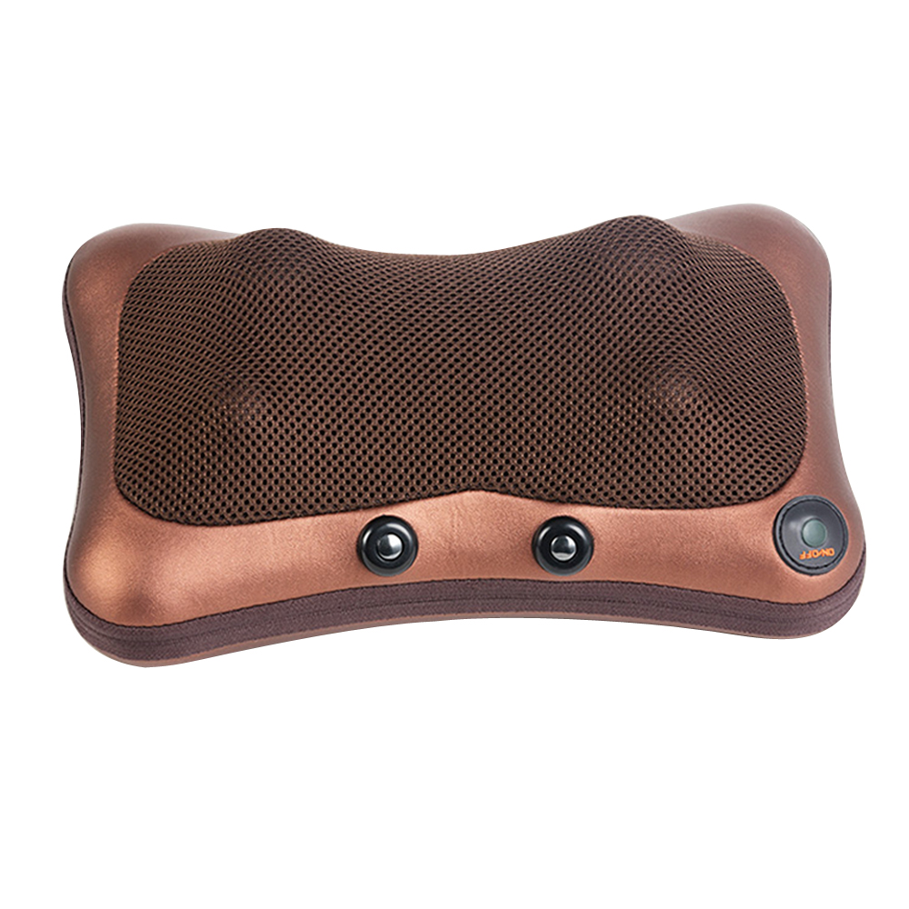 household Cervical massage device neck multifunctional electric full-body cushion car massage pillow for Infrared heating<br>