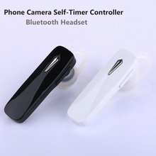 Stereo Sports Bluetooth Headset Self-Timer Shutter Release Universal Sefie Camera Remote Control Hands Free for Samsung Xiaomi