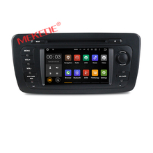 Cheap price android 7.1 car dvd player multimedia radio for VW/Volkswage SEAT IBIZA 2009-2013 with GPS navigation audio 4G wifi