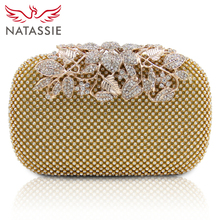 NATASSIE New Fashion Women Evening Bags Ladies Wedding Party Clutches Purses