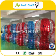 14pcs +2blower Wholesales Price 1.5M TPU Good Price Bubble Ball Suit,bubble soccer ball,bumper ball rent for sale, Loopy ball