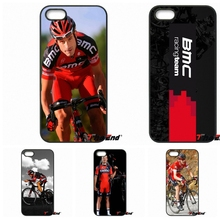 For iPhone 4 4S 5 5C SE 6 6S 7 Plus Samsung Galaxy Grand Core Prime Alpha BMC Racing Cycling Bike Team Print Phone Case Cover