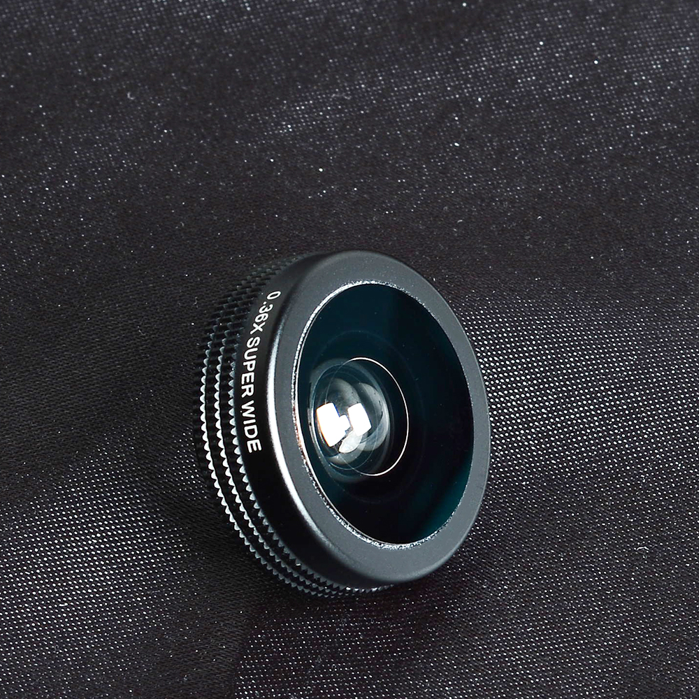 APEXEL 7 in 1 Phone Camera Lens Kit Fish Eye Wide Angle/macro Lens CPL Kaleidoscope and 2X telephoto zoom Lens for iPhone5/6s/7 12