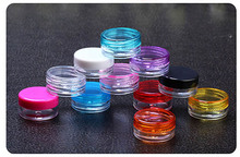 2G round cream eyeshadow container,2g mini power cream jar ,empty 2g Cosmetic Jar Cosmetic Packaging cosmetic container