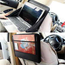 Car Multi-function Laptop Fold Stand Frame Notebook Universal Holder Drink Rack Exo Table Car Styling Car Storage Bag(China)