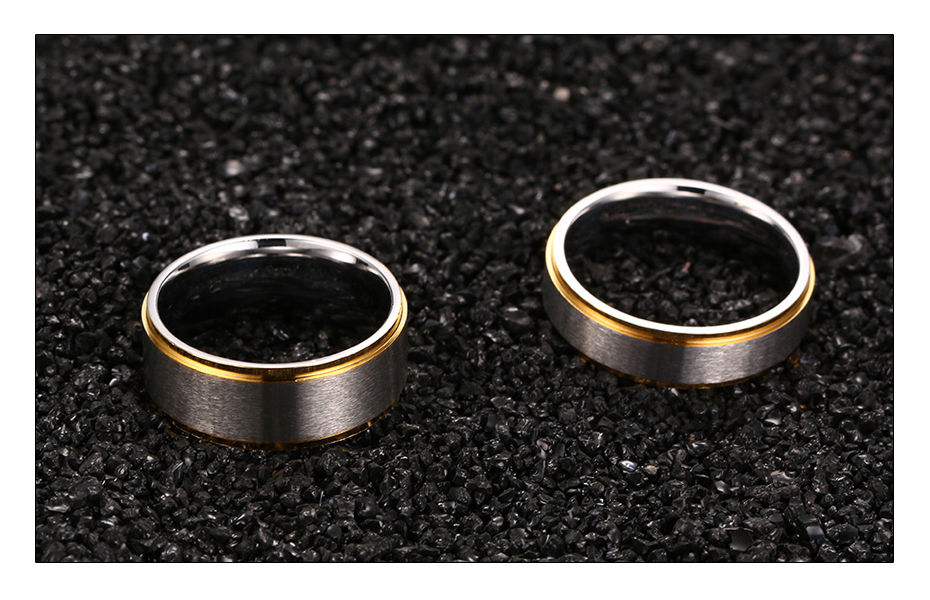 Meaeguet Classic Couple Wedding Rings For Men Women Titanium Steel Lover's Engagement Wedding Bands Alianca De Casamento (5)