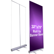 10x Retractable Roll Up Banner Stand W/Graphic Printing