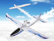 WLtoys F959 Sky King 2.4G 3CH 750mm Wingspan Radio Control RC Airplane Aircraft RTF Without LED Blue