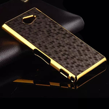 for Sony M2 Case Hybrid Gold Frame Football Skin Hard PC Back Cover for Sony Xperia M2 S50h D2303 D2305 D2306 Dual Sim D2302