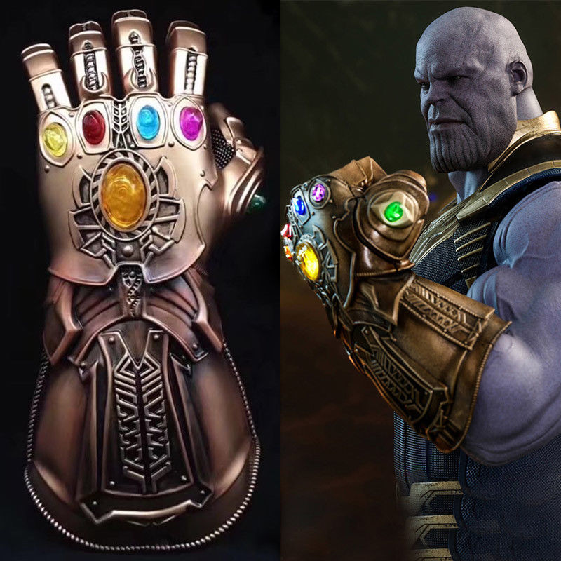 1:1 Thanos Infinity Gauntlet Marvel Legends Thanos Gauntlet Gloves Avengers 2018