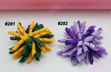 free shipping 3.5'' 100pcs korker hair clips (SEW ONES) mix color korker hair bows corker hair clips colorful(China)
