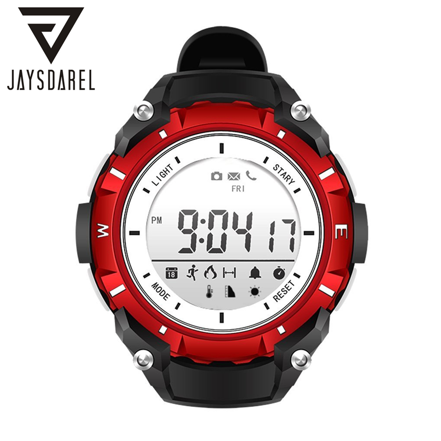 JAYSDAREL SW08 Smart Watch 30M Waterproof Sport One Year Standby Time Bluethooth Fitness Tracker Smartwatch For iOS Android<br>
