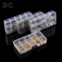 Buy DC 1box/lot Mixed Ends Fastener Clasps/Lobster Clasps/Jump Rings/Extender Chains/Crimp Beads Set Jewelry Findings Making for $6.28 in AliExpress store