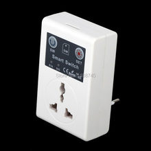 220v EU Plug Cellphone Phone PDA GSM RC Remote Control Socket Power Smart Switch