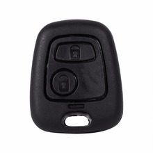 1 Pcs 2 Button Remote Key Fob Case Shell Cover For Peugeot 106 107 206 207 307 406 407 New(China)