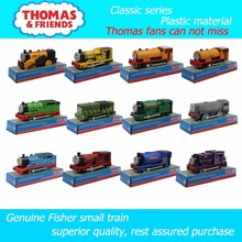 Electric train Thomas and friends 12 kinds of single small train Trackmaster plastic material children have the packaging(China)