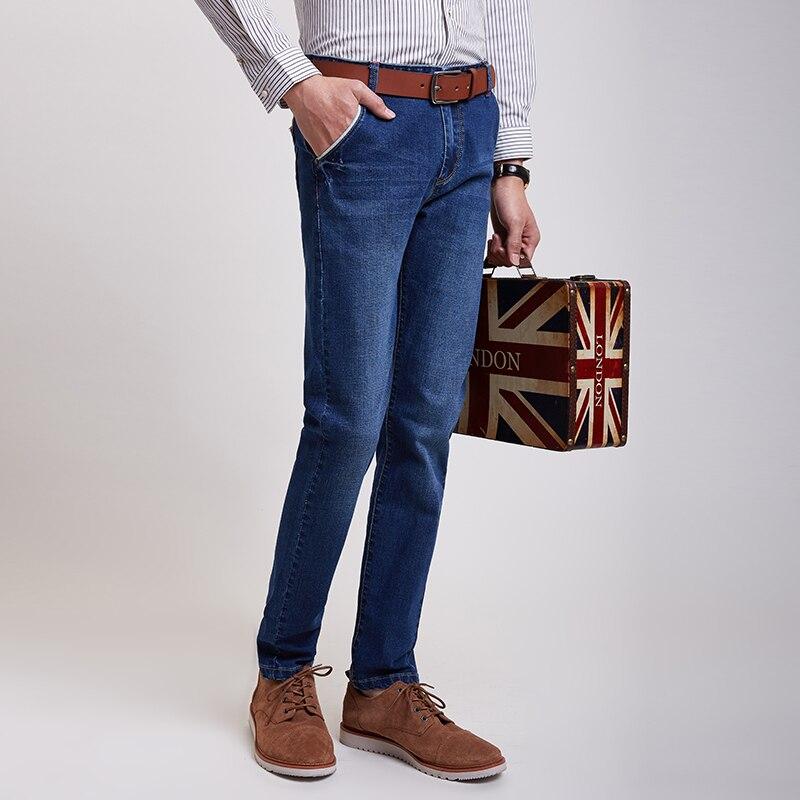 Fashion Business Top Quality Men Jeans Man Skinny Jean Caual Designer Brand Slim Denim Elasticity Pants Plus Size28-40#YF3811Одежда и ак�е��уары<br><br><br>Aliexpress
