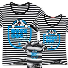 BIN NI Summer Children's Clothing Family Look Mom And Daughter Clothes Brand Family Matching Outfits 95% Cotton 5% Spandex