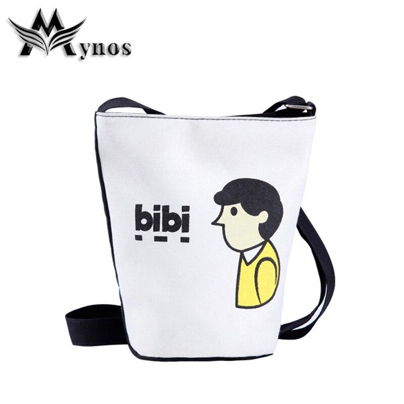 2017 High Character Canvas Women Messenger Bag Bucket Crossbody bag For Women Shoulder Bag Ladies Evening Bag Sac A Main Femme<br><br>Aliexpress