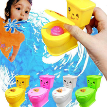 Colorful Prank Squirt Spray Water Toilet Joke Gag spoof children toy halloween christmas gift Funny gadgets Tricky toys(China)