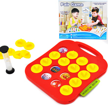 Children Memory Training Matching Pair Game Early Education Interactive Toy Parent Child Link Up Chess Puzzle Toys(China)