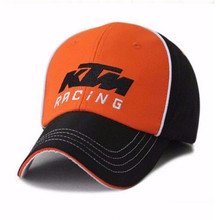 New Racing Cap brand new racing cap hat baseball cap hats / orange /black/size 56-59CM Snapback Hats For Men Women(China)