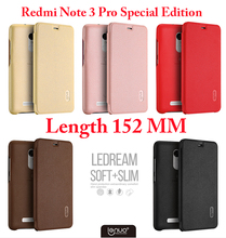 For Xiaomi Redmi Note 3 Pro Special Edition Phone Case For Xiaomi Redmi Note 3i Pro Prime SE Glass Global Version 152mm funda