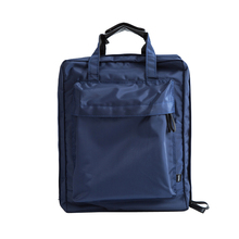 Portable Nylon Travel Carry On Bag Preppy Style Soft Zipper Travel Luggage Bag