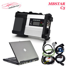 Hot selling Diagnostic-tool MB Star C5 V2017.7 software HDD with D630 Laptop Diagnostic for MB SD Connect C5 Ready to use