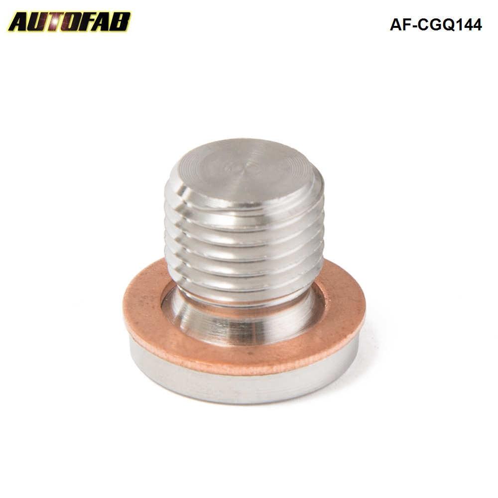 AUTOFAB -Lambda O2 Oxygen Sensor Exhaust Downpipe Bung Blank Bolt plug M12 x 1.25 AF-CGQ144