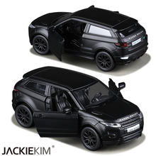 RMZ city 1:36 Model Toy Car Matte Black RANGE ROVER EVOQUE Pull Back Toy For Children's Gifts Collection Free Shipping