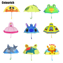 Ceiourich 3D Cute Cartoon Rain Umbrella For Children Small Umbrellas Kids Umbrella For boys  Fashion Umbrella-19