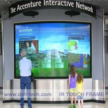 60 inch Infrared Touch Panel Multi Touch / interactive touch screen frame-6 points / Fast Shipping,No light spots