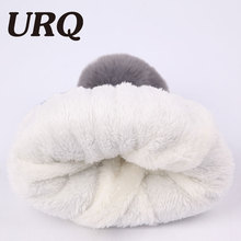 fashion hat ladies beanie beard winter hat pom pom warm hats(China)