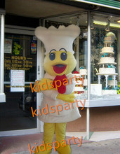 holiday cook chef mascot costume fancy party dress suit carnival costume fursuit mascot