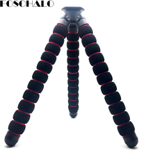 FOSOHALO 250mm Large Sponge Octopus Tripod for Nikon/Canon/Yi/for Gopro DSLR Camera Selfie Stick Clip for iPhone/Samsung/XIAOMI(China)