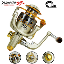 Hot  wheels fish spinning reel 5.5:1 10Ball Bearing carretilhas de pescaria molinete fishing reel accessories 1000-7000series